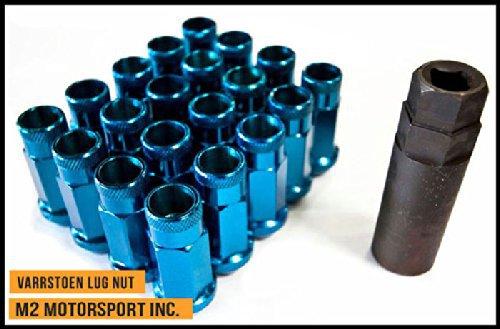 Varrstoen Vt48 Lug Nuts 12x1.5mm Extended Open Blue