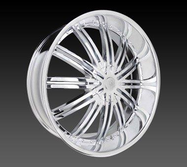 "18"" Red Sport Wheels Rsw 99 Chrome Rim 18x7.5 Offset 38 Chrome 4x114.3"