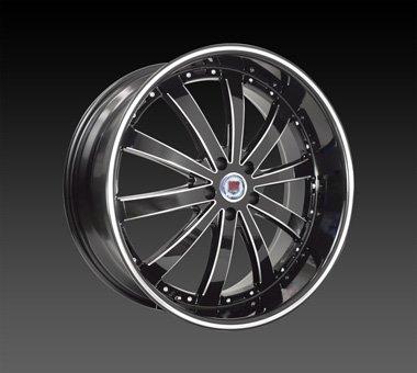 "22"" Red Sport Wheels Rsw 77 Rim 22x9 Offset 13 5x115"