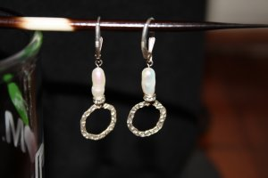 Tubular Pearl Earrings - DMD0230