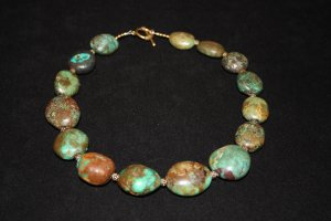 Chunky Turquoise Necklace - DMD0033
