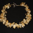 Citrine Chunky Necklace- DMD0153