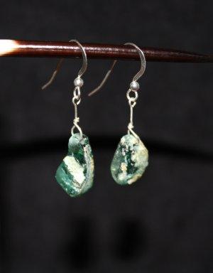 Ancient Roman Glass Earrings - DMD0260