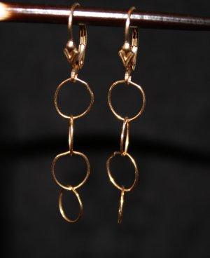 Gold Link Earrings - DMD0280