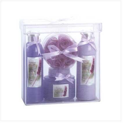 Lavender Luxury Bath Set