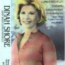 DINAH SHORE- Doin' What Comes Natur'lly (1995)  - Cassette Tape