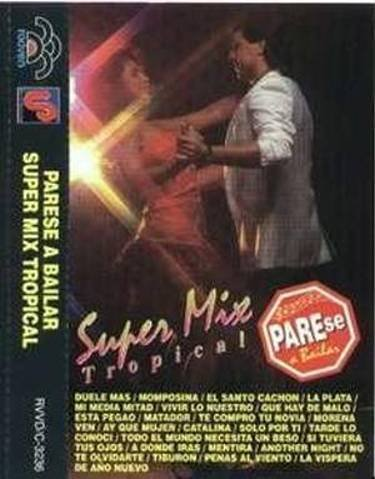 VARIOS ARTISTAS - Super Mix Tropical - Cassette Tape
