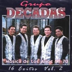 GRUPO DECADAS  - 16 Exitos Vol. 2  - CD