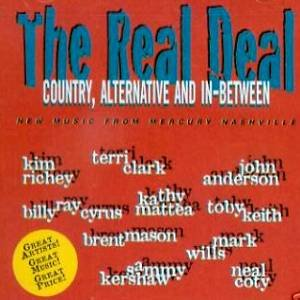 THE REAL DEAL - Country, Alternative and in-between (1997) - CD