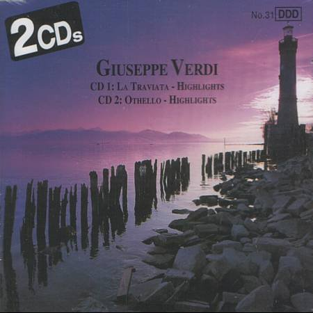 GIUSEPPE VERDI - Highlights: La Traviata & Othello - 2 CD'S