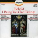 Behold I Bring You Glad Tidings (1990) - Christmas CD