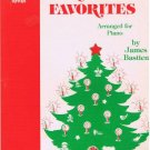 CHRISTMAS FAVORITES - The Bastien Piano Library Level 1 (1979)