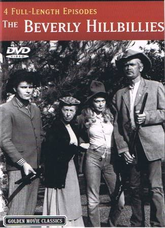 THE BEVERLY HILLBILLIES - 4 Full Lenth Episodes - DVD