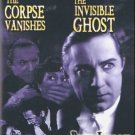 THE INVISIBLE GHOST (1941)  /  THE CORPSE VANISHES (1941) - DVD