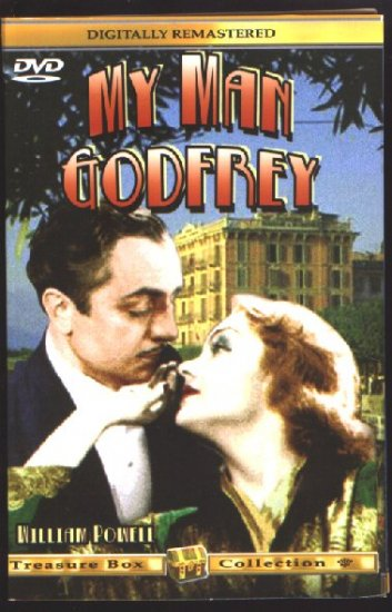 MY MAN GODFREY (1936) - DVD