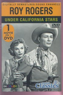 ROY ROGERS - Under California  Skys (1948) - DVD