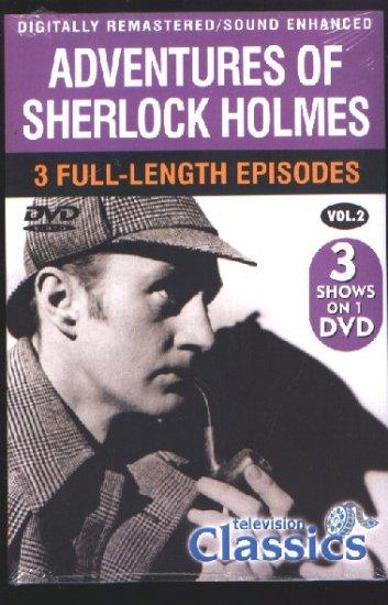 ADVENTURES OF SHERLOCK HOLMES VOLUME 2 - DVD
