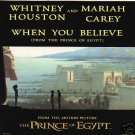 WHITNEY HOUSTON / MARIAH CAREY - The Prince of Egypt: When You Believe - CD Single