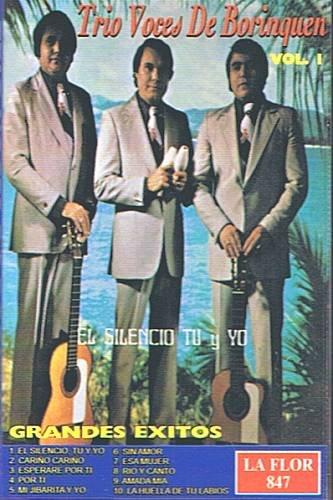 TRIO VOCES DE BORINQUEN - Grandes Exitos Vol. 1 - Cassette tape