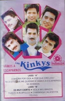 LOS KINKYS - Vamos A Escaparnos - Cassette Tape