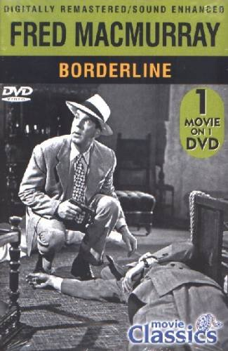BORDERLINE (1950 - DVD