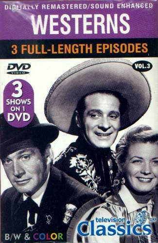 WESTERNS VOLUME 3 - DVD