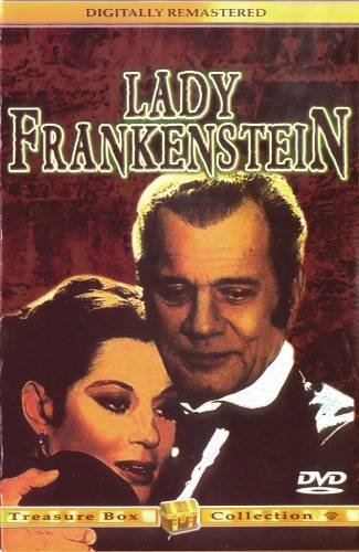 LADY FRANKENSTEIN (1971) - DVD