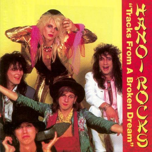 HANOI ROCKS - Tracks From A Broaken Dream (1990) - Cassette tape