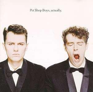 PET SHOP BOYS - Actually (1990) - Cassette Tape