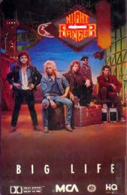 NIGHT RANGER - Big Life (1987) - Cassette Tape