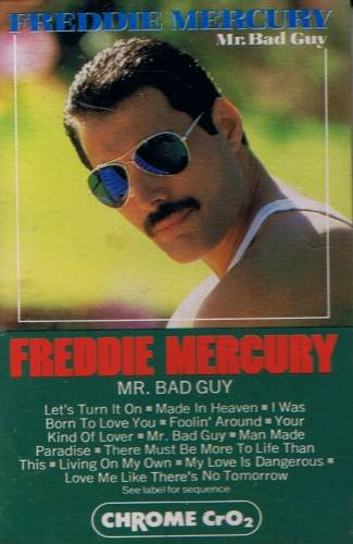 FREDDIE MERCURY - Mr. Bad Guy (1985) - Cassette Tape