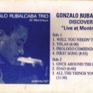 GONZALO RUBALCABA - Discovery - Live At Montreux (1991) - Cassette Tape