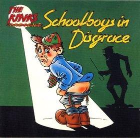 THE KINKS - Schoolboys in Disgrace (1975) - Cassette Tape