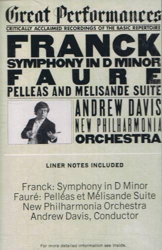 FRANCK - Symphony in D Minor (1976) - Cassette Tape