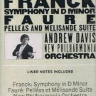 FRANCK - Symphony in D Minor (1976) - Cassette Tape