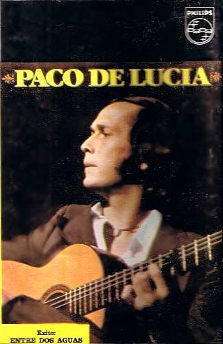 PACO DE LUCIA - Entre Dos Aguas - Cassette Tape