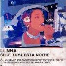 LUNNA - Sere Tuya Esta Noche (1989) - Cassette tape