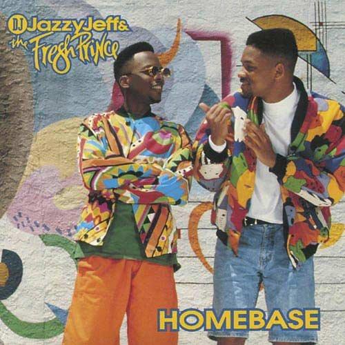 DJ JAZZY JEFF / FRESH PRINCE - Homebase (1991) - Cassette Tape