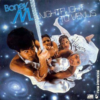 BONEY M - Night Flight To Venus (1978) - Cassette Tape
