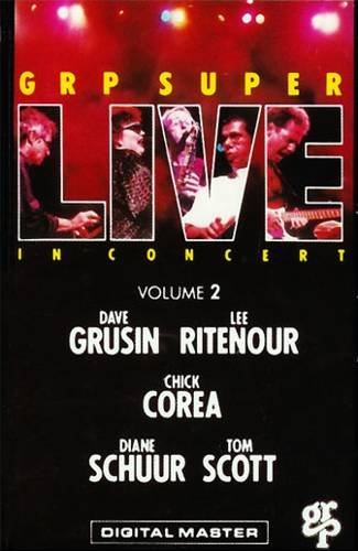 GRP SUPER LIVE Volume 2 (1988) - Cassette Tape