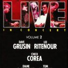 GRP SUPER LIVE Volume 2 (1988) - Cassette Tape