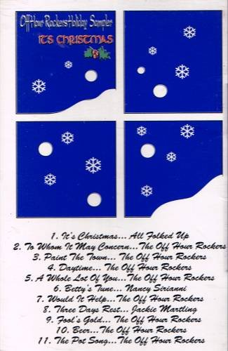 OFF HOUR ROCKERS SAMPLER- It's Christmas (1993) - Cassette Tape