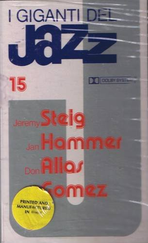 I GIGANTI DEL JAZZ No. 15 - STEIG / HAMMER / ALIAS / GOMEZ - Cassette Tape