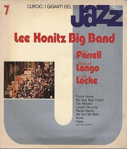 I GIGANTI DEL JAZZ No. 7 - LEE KONITZ BIG BAND - Cassette Tape