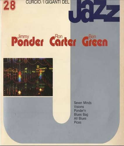 I GIGANTI DEL JAZZ No. 28 - JIMMY PONDER TRIO - Cassette Tape