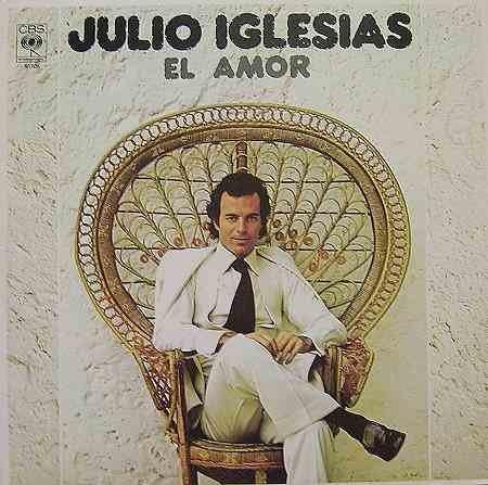 JULIO IGLESIAS - El Amor (1986) - LP