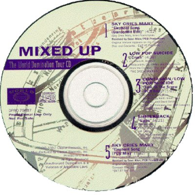 THE WORLD DOMINATION TOUR - Mixed Up (1992) - Promo CD