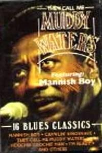MUDDY WATERS - 16 Blues Classics (1988) - Cassette Tape