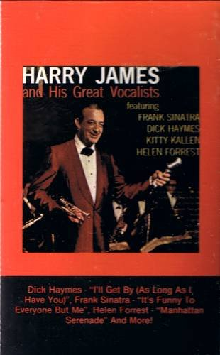 HARRY JAMES - His Great Vocalists (1976) - Cassette Tape