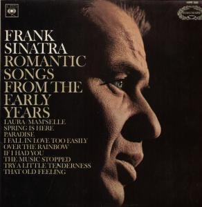 FRANK SINATRA - Romantic Songs From The Early Years (1985) - LP